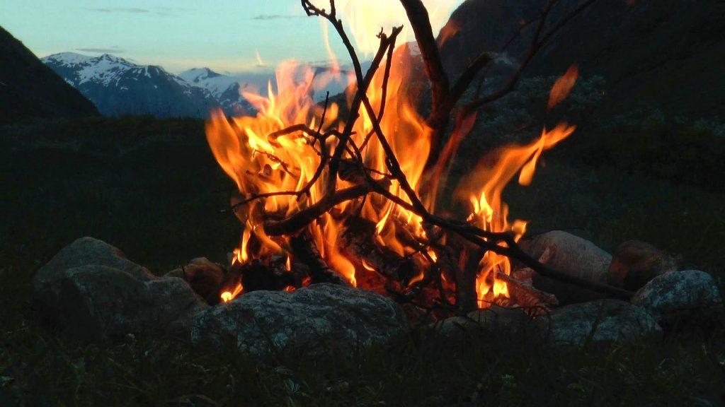 hunting campfire