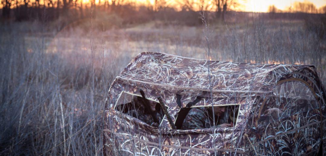 deer hunting tent